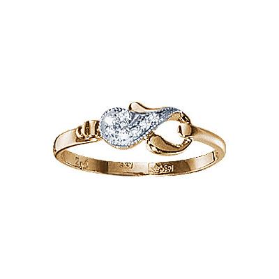 Золотое кольцо Ювелирное изделие 17566RS