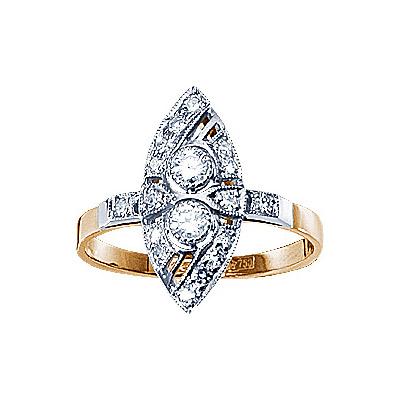 Золотое кольцо Ювелирное изделие 17764RS золотое кольцо ювелирное изделие a1006808074
