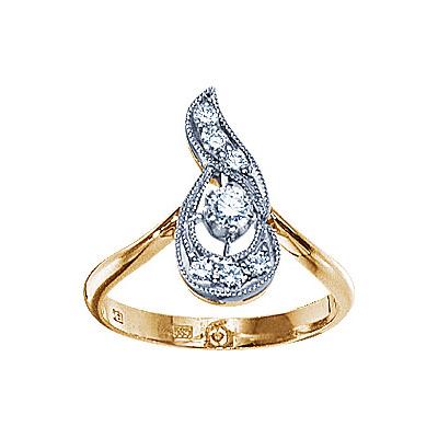 Золотое кольцо Ювелирное изделие 17775RS