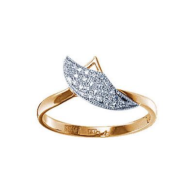 Золотое кольцо Ювелирное изделие 17872RS soul diamonds золотое кольцо с бриллиантами ice40001073
