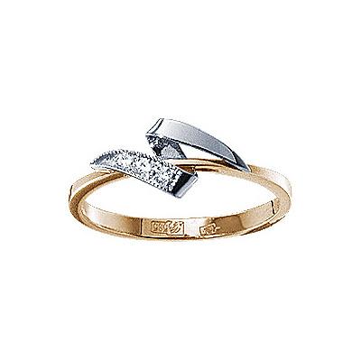 Золотое кольцо Ювелирное изделие 17874RS