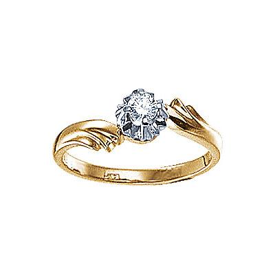 Золотое кольцо Ювелирное изделие 17925RS
