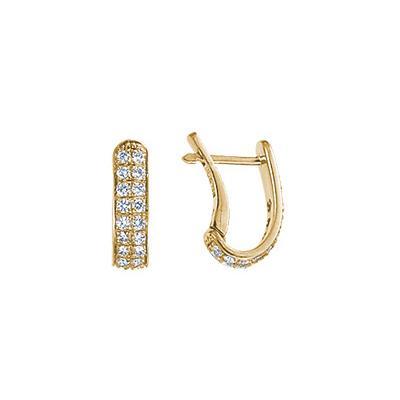 Золотые серьги Ювелирное изделие 18282RS