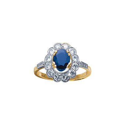 Золотое кольцо Ювелирное изделие 18337RS кольцо алмаз холдинг женское золотое кольцо с бриллиантами и рубином alm13237661 19