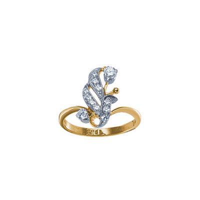 Золотое кольцо Ювелирное изделие 18439RS