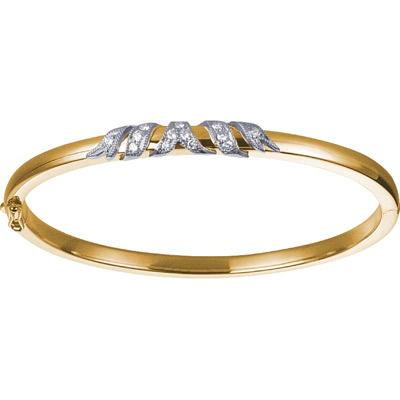 Золотой браслет Ювелирное изделие 18561RS