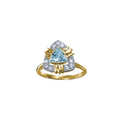 Золотое кольцо Ювелирное изделие 18598RS