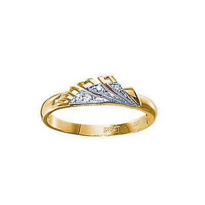 Золотое кольцо Ювелирное изделие 18653RS