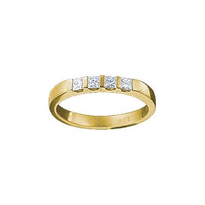 Золотое кольцо Ювелирное изделие 18821RS кольцо алмаз холдинг женское золотое кольцо с бриллиантами и рубином alm13237661 19