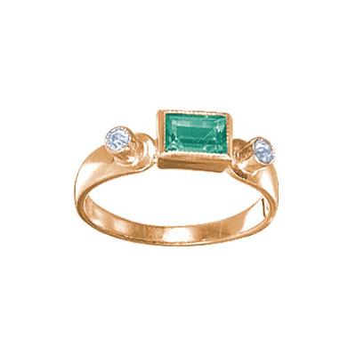 Золотое кольцо Ювелирное изделие 19350RS