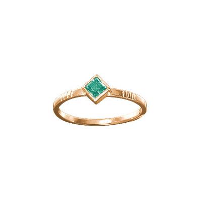 Золотое кольцо Ювелирное изделие 19511RS цена и фото