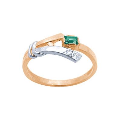 Золотое кольцо Ювелирное изделие 19764RS