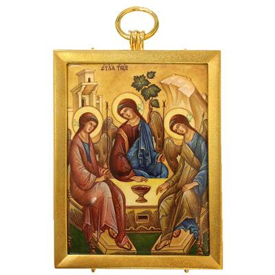 Серебрянная икона Ювелирное изделие 34833RS