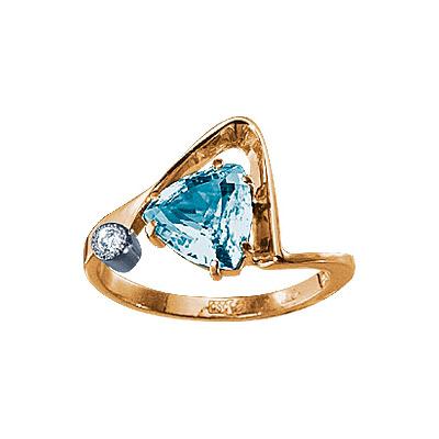 Золотое кольцо Ювелирное изделие 61210RS