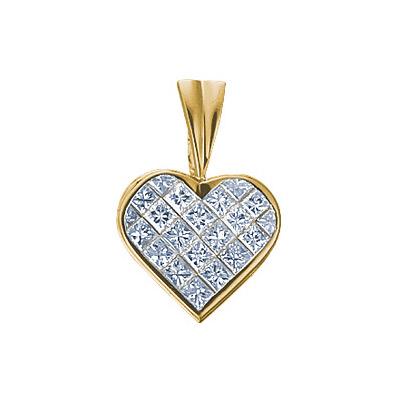 Золотой подвес Ювелирное изделие 61540RS ювелирное изделие золотой подвес 14466rs