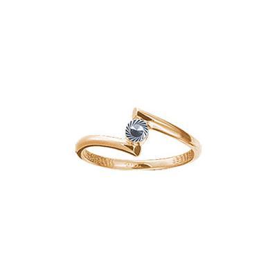 Золотое кольцо Ювелирное изделие 67845RS утюг браун 6595
