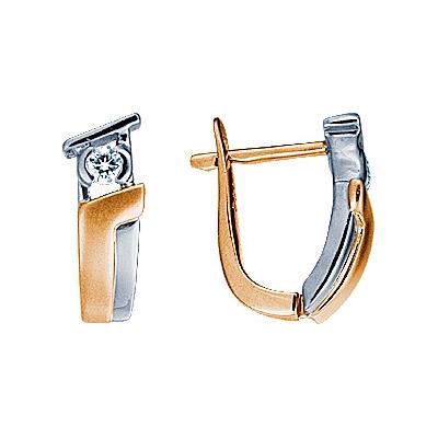 Золотые серьги Ювелирное изделие 71067RS