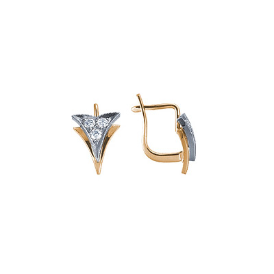 Золотые серьги Ювелирное изделие 71130RS