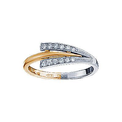 Золотое кольцо Ювелирное изделие 71202RS