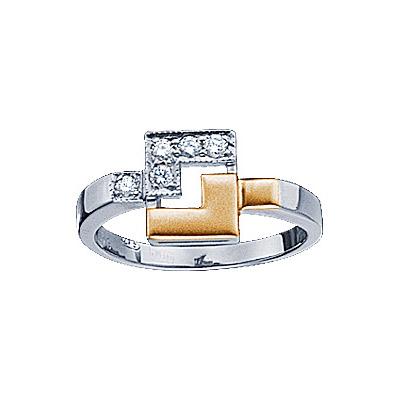 цены Золотое кольцо Ювелирное изделие 71244RS