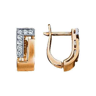 Золотые серьги Ювелирное изделие 71245RS