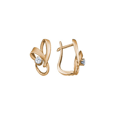 Золотые серьги Ювелирное изделие 71260RS