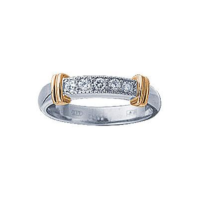 Золотое кольцо Ювелирное изделие 71285RS кольцо алмаз холдинг женское золотое кольцо с бриллиантами и рубином alm13237661 19
