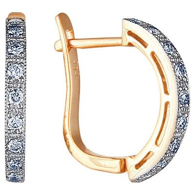 Золотые серьги Ювелирное изделие 71791RS