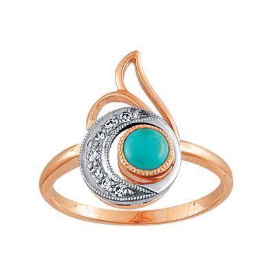 Золотое кольцо Ювелирное изделие 88003RS