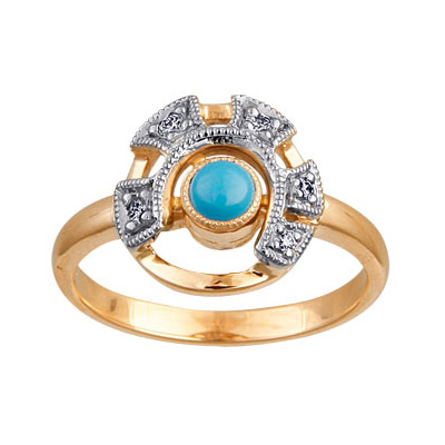Золотое кольцо Ювелирное изделие 88006RS
