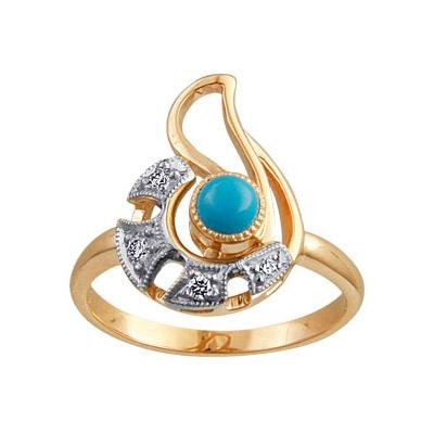 Золотое кольцо Ювелирное изделие 88009RS