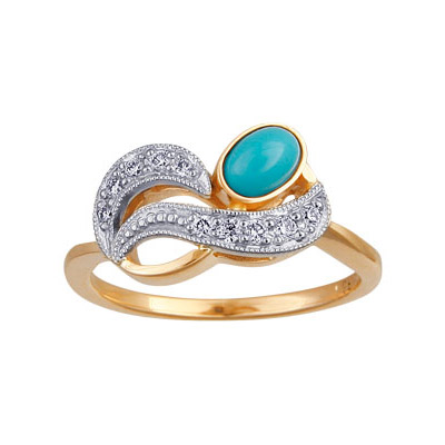 Золотое кольцо Ювелирное изделие 88012RS