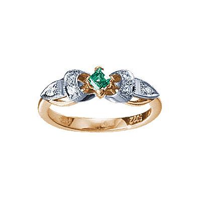 Золотое кольцо Ювелирное изделие 90395RS цена
