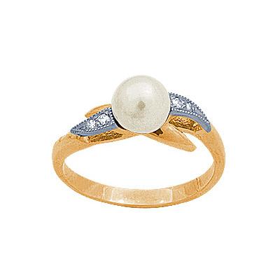 Золотое кольцо Ювелирное изделие 90587RS