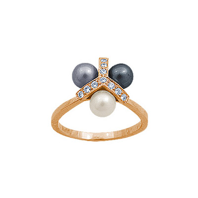 Золотое кольцо Ювелирное изделие 90597RS все цены