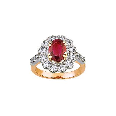 Золотое кольцо Ювелирное изделие 90910RS
