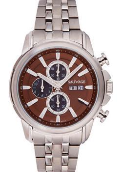 Sauvage Часы Sauvage SV16301SBR. Коллекция Strong Selection sauvage часы sauvage sk74701sg коллекция energy