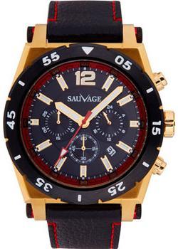 Sauvage Часы Sauvage SV44765GB. Коллекция Strong Selection