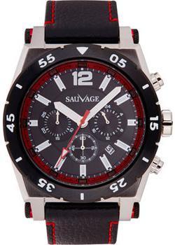 Sauvage Часы Sauvage SV44765SB. Коллекция Strong Selection sauvage часы sauvage sk74701sg коллекция energy