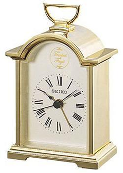 Seiko Настольные часы Seiko QHE004GN. Коллекция Интерьерные часы seiko настольные часы seiko qxe018bn коллекция интерьерные часы
