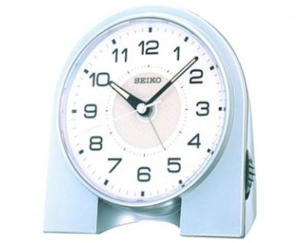 Seiko Настольные часы Seiko QHE031S. Коллекция Интерьерные часы seiko qxa603w