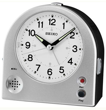 Seiko Настольные часы Seiko QHE081SN. Коллекция Интерьерные часы seiko настольные часы seiko qxe018bn коллекция интерьерные часы