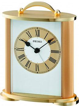 Seiko Настольные часы  Seiko QHE092GL. Коллекция Интерьерные часы seiko настольные часы seiko qhe092sl коллекция интерьерные часы