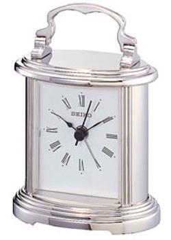 купить Seiko Настольные часы Seiko QHE109SN. Коллекция Интерьерные часы по цене 3740 рублей
