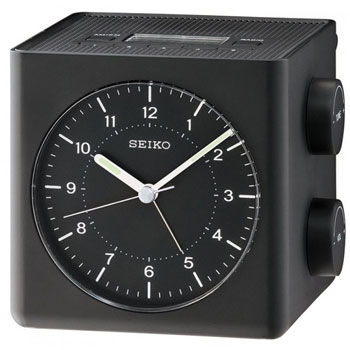 Seiko Настольные часы Seiko QHE112KN. Коллекция Интерьерные часы seiko настольные часы seiko qhe081kn коллекция интерьерные часы