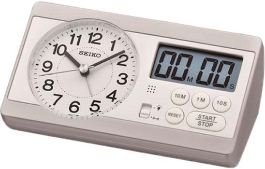 лучшая цена Seiko Настольные часы Seiko QHE152SN. Коллекция Настольные часы