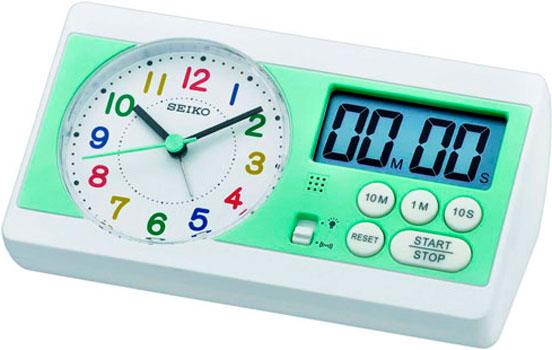 Seiko Настольные часы Seiko QHE152WN. Коллекция Настольные часы nixon часы nixon a934 2042 коллекция minx