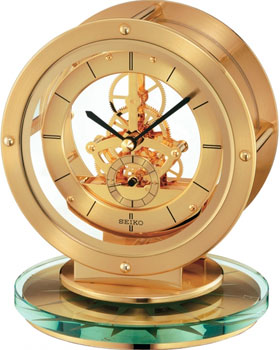Seiko Настольные часы Seiko QHG038GN-Z. Коллекция Настольные часы