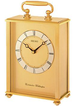 Фото - Seiko Настольные часы Seiko QHJ201G. Коллекция Настольные часы часы настольные лепнина бабочка розы ажур 12 х 15 см 2757024