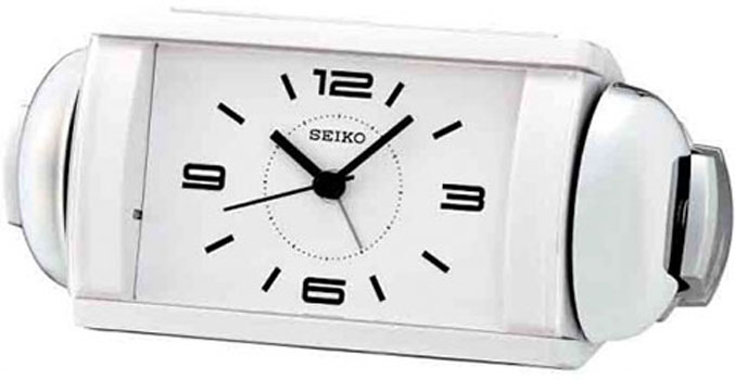 seiko настольные часы seiko qhe054gn коллекция интерьерные часы Seiko Настольные часы  Seiko QHK027WN. Коллекция Интерьерные часы